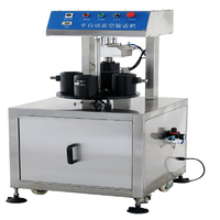 Semi-automatic vacuum capping machine
