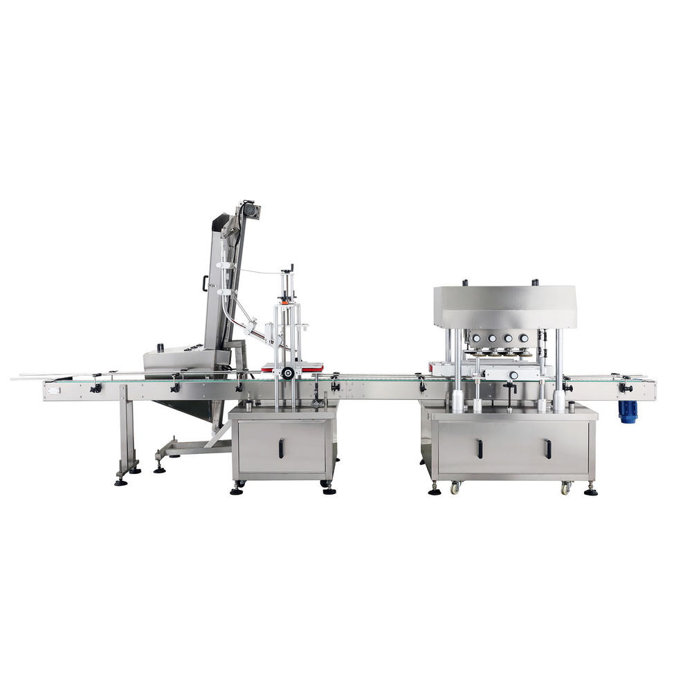 Automatic linear type capping machine